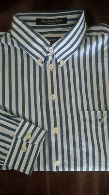 Gant boy's L striped shirt age 9-10 years