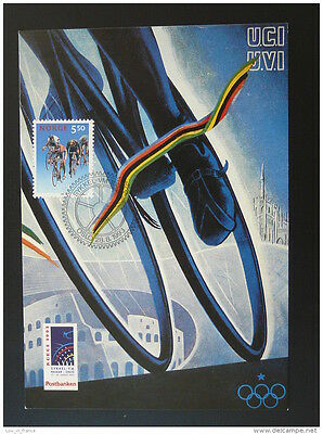 bicycle cycling world cup maximum card Norway 1993 (2)