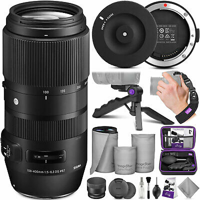 Sigma 100-400mm f/5-6.3 DG OS HSM Contemporary Lens for Nikon F with USB Dock