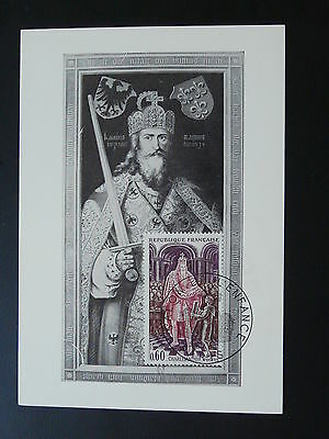 paintings Albrecht Durer king Charlemagne medieval history maximum card 1966