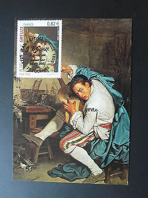 paintings Greuze music instrument maximum card 2005 (1)