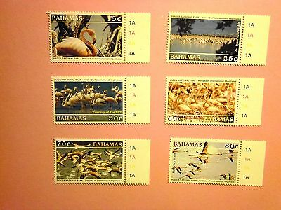 BAHAMAS: 2003 Inagua National Park Wetlands 6values M/Mint Sg1299/1304