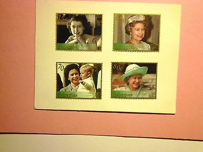 BAHAMAS: 2002 Queen Elizabeth II/Golden Jubilee 4values M/Mint Sg1275/8