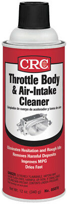 CRC 05078 Throttle Body and Air-Intake Cleaner 12oz