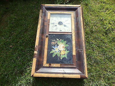 Antique American Welch wall clock restoration project