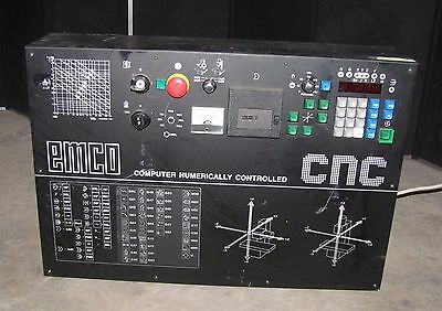 Emco Computer Numerically Controlled Cnc Controller Model Lr 14 412 (#2040)