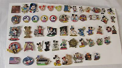 DISNEY PIN LOT of 54 MICKEY MOUSE