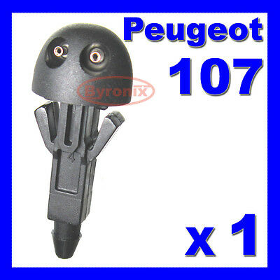 Peugeot 107 Front Windscreen Washer Jet Nozzle X 1