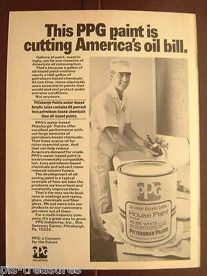 1979 PPG's Water-based Latex Pittsburgh Paints AD