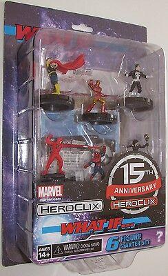 15TH ANNIVERSARY WHAT IF? STARTER SET Marvel Heroclix
