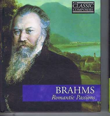 BRAHMS Romantic Passions CD in hard booklet sleeve