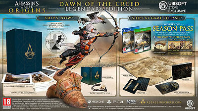 Assassins Creed Origins - Dawn of the Creed Legendary Edition - PS4