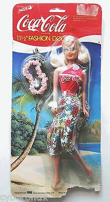 1999 Coca Cola Fashion Doll Set NEW in Package 4020 Barbie Size BBI Toys 11.5""