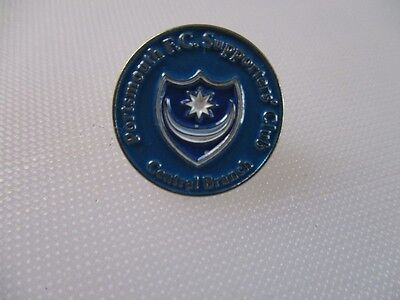 Portsmouth  FC supporters club central branch pin badge