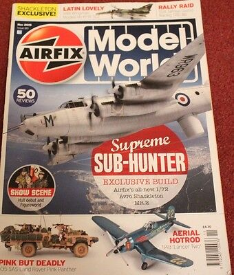 Airfix 2015 November Shackleton,Kfir,F4U Corsair