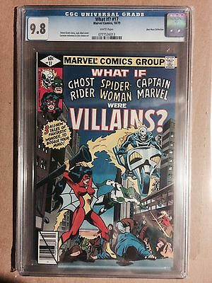 WHAT IF? Vol. 1 #17 cgc 9.8 GHOST RIDER & SPIDER-WOMAN 1979 Don Rosa Pedigree