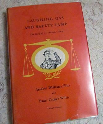 Laughing Gas And Safety Lamp, The Story of Sir Humphrey Davy CR 1954 Science