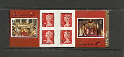 Great Britain Booklet Buckingham Palace MNH