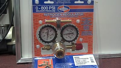 Nitrogen Regulator, Uniweld, Rhp800, 0-800 Psi Delivery Pressure