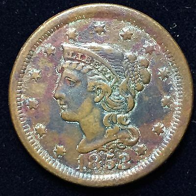 Large Cent 1853Extra Fine