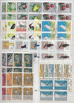 Vietnam  - 1958-64    Used Stamps     USED  -VF # Lot x4