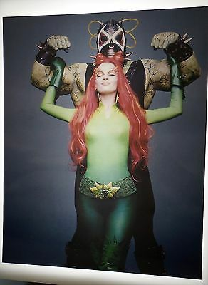 Uma Thurman Poison Ivy  Vintage 8X10 Photo Photograph #210 Batman & Robin