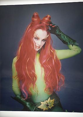Uma Thurman Poison Ivy  Vintage 8X10 Photo Photograph #218 Batman & Robin