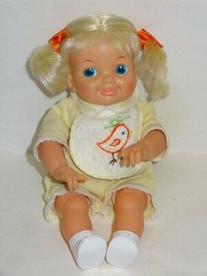 1969 RARE MINTY In a Minute Thumbelina Pullstring Doll -Tested & Works-Original