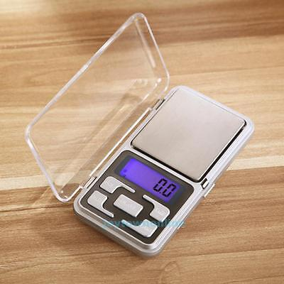 200x0.01g Mini Pocket Digital Scale Jewelry Gold Weighing Tool Without Battery