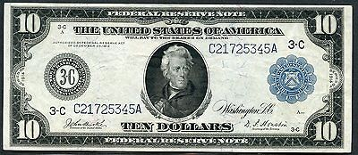 United States  $10 Philadelphia Lot Ii   Frn Series 1914  You  Grade