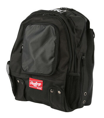 Rawlings Backpack Black BKPK