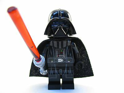Darth Vader Lego Minifigure With Lightsaber Cad 1 50