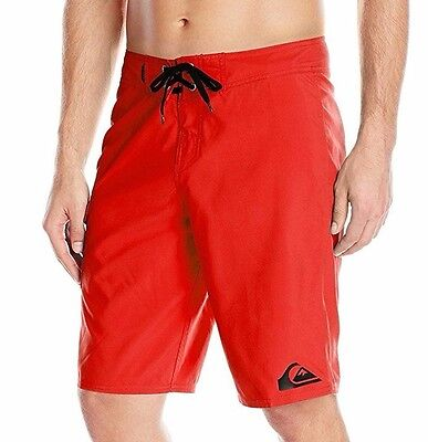 """QUIKSILVER Men's Everday 21"""" Swim Boardshorts Size 36 Red New NWT Retail $39.50"""