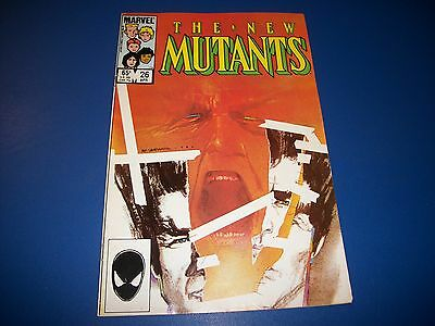 New Mutants #26 Nice FVF Key Comic Book 1st Legion New FX TV Show Series HOT!