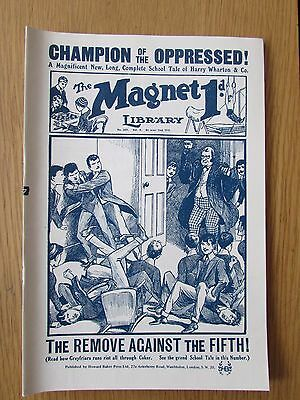 The Magnet No 399 Facsimile copy featuring Billy Bunter (October 1915)