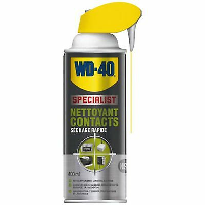 Wd40 Specialist Nettoyant Contacts Bombe 400 Ml
