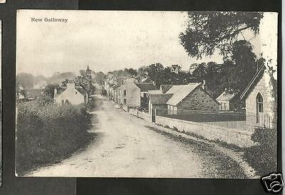 FTV Early Postcard, New Galloway,  Kirkcudbrightshire