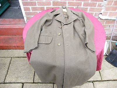 1940 patern dated 1943 royal artilary officers great coat