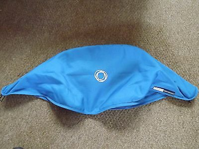 Genuine Bugaboo Cameleon 1 2 or 3  Bright Blue  Hood Canopy Fabric