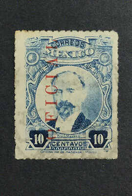 MOMEN: MEXICO STAMPS #O139a 1921 USED $60 R1794S #11222