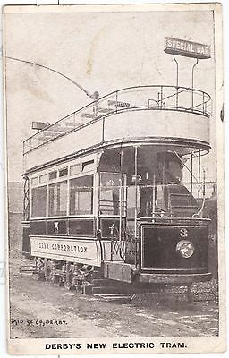 Derby's New Electric Tram (no.3) early view
