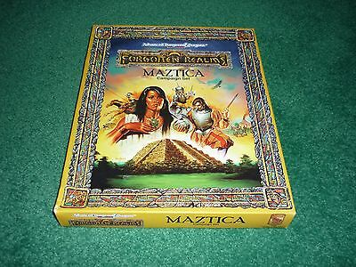 TSR 1066 AD&D 2nd Ed. FORGOTTEN REALMS MAZTICA CAMPAIGN SET Dungeons & Dragons