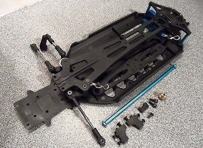 NEW FTX Carnage Centre Chassis Section Inc Propshaft/Upper Deck/Pinion Gear