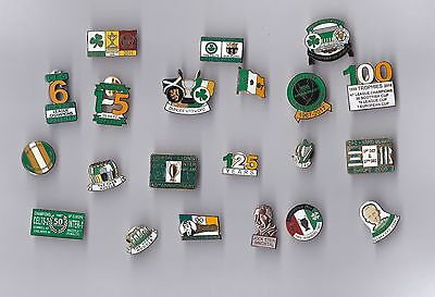 Celtic lapel badges x 21