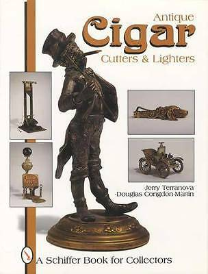 Antique Cigar Cutters & Striker Lighters Collector Guide Bronze Figural Adv More