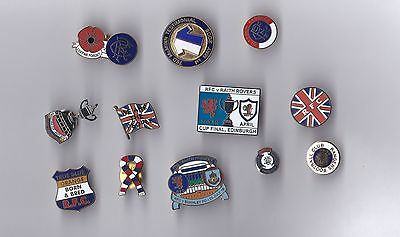 Rangers lapel badges x 12
