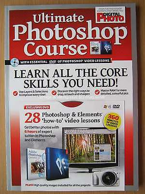 Ultimate Photoshop Course from Digital Photo magazine DVD video lessons Elements