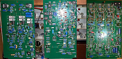Ems Vcs3/synthi A Full Set Of Pcb's A,b +C.populated And Calibrated Custom Made