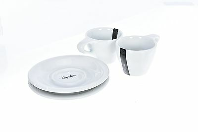 SET 2 Rapha Espresso Cup And Saucer Coffee Casual Cycling Bike Road