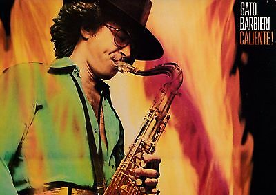 GATO BARBIERI: CALIENTE  Original vinyl LP  1st UK pressing
